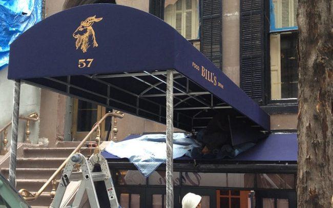 Bills Restaurant Canopy