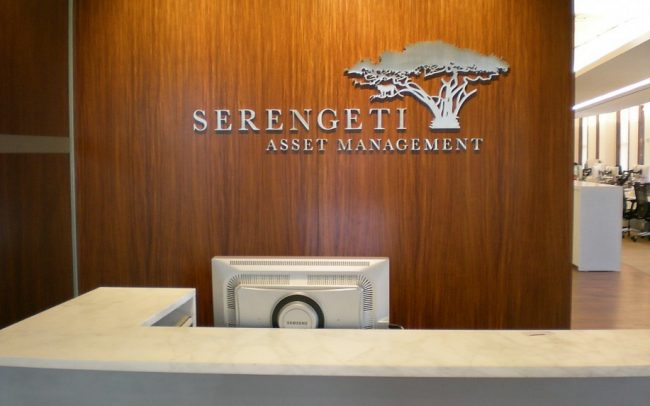 Financial Business Sign