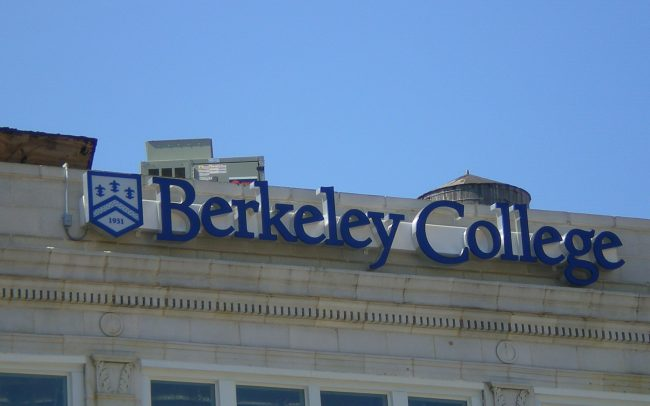 Berkeley College Illuminated Channel Letters