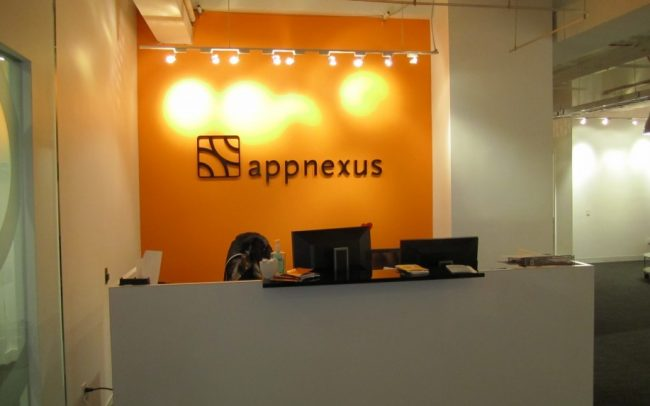 AppNexus - Reception Sign