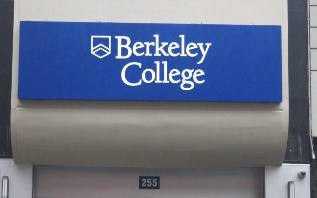 Berkeley College Sign Panel