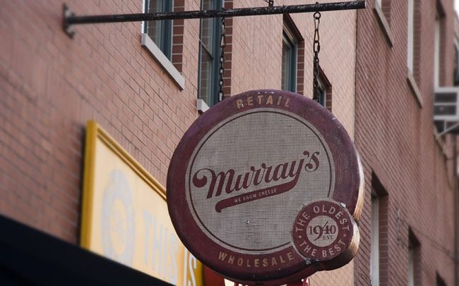 Antique Sign - Murrays Cheese