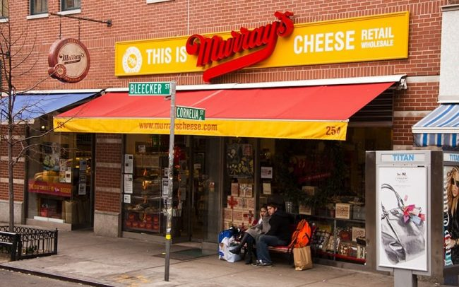 Hospitality Signs - Murrays Cheese