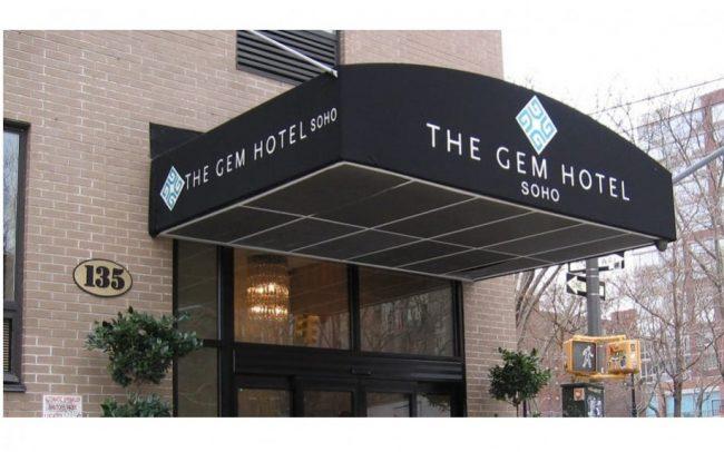Hotel Awning