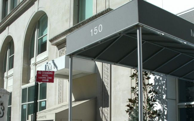 Building Entrance Canopy