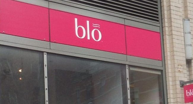 Blo Salon Signs