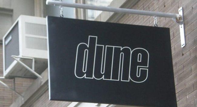 Dune Swing Sign