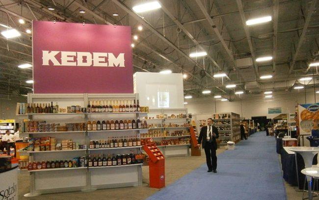 Kedem Tradeshow Booth