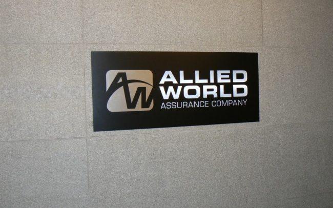 Elevator Landing Sign