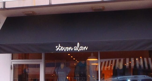 Steven Alan Awning