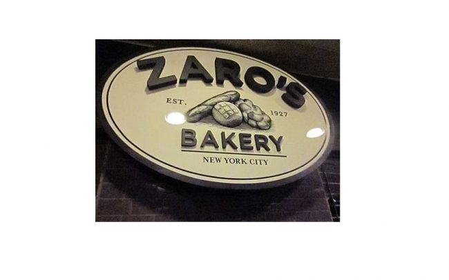 Hospitality Signs - Zaros Bakery